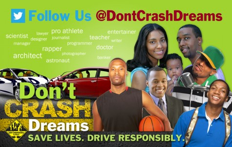 Stop Fatalities, Go Dreams, Aspiring Traffic Ahead
