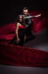 Principal dancer Claudia Pizarro and company dancer Juan Castellon—so much sexy!