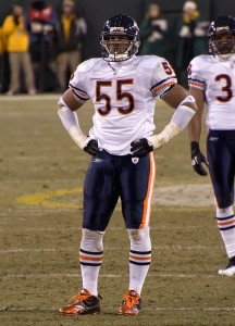 The health of veterans like Lance Briggs will be a deciding fac- tor in the Chicago Bears' success this season