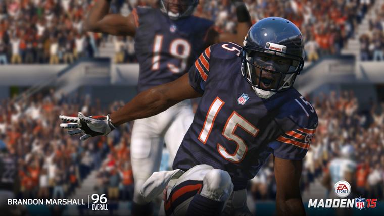 Madden 15 will have you dancing in the end-zone.