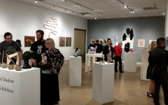 Art Reception in the Glass Room