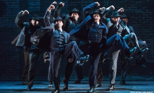 "Tap dancing mobster are just one thing that await viewers in ""Bullets Over Broadway."""