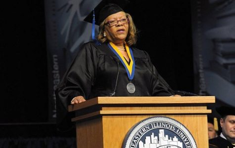 Student Speaker: 'Share Knowledge, Give Back'