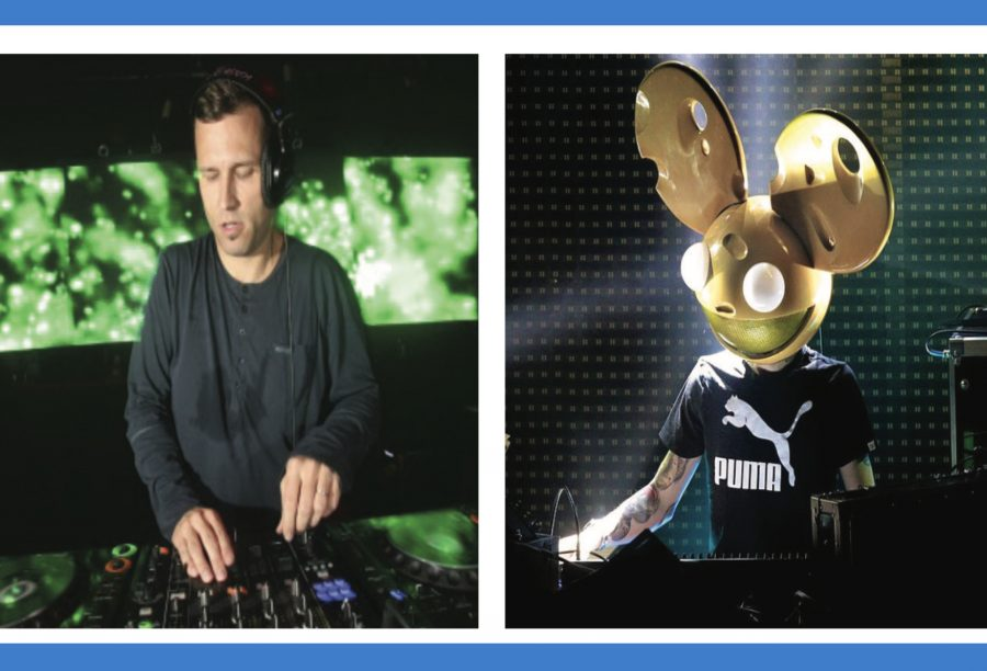 Kaskade+%28left%29+and+deadmau5+%28right%29+released+the+latest+version+of+%E2%80%9CBeneath+With+Me%E2%80%9D+on+Oct.+7.