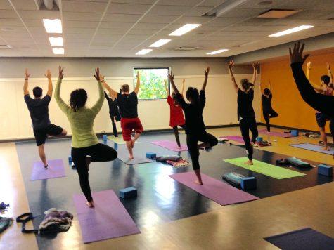 Yoga reduces stress, increases focus