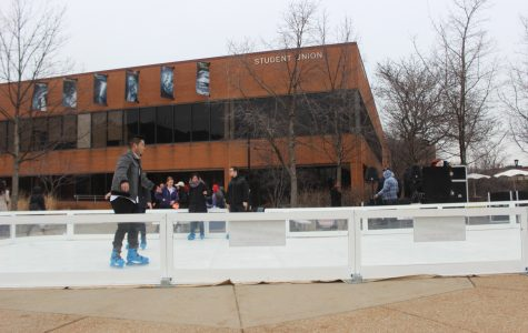 Grad student, SLD brings iceless skating to NEIU