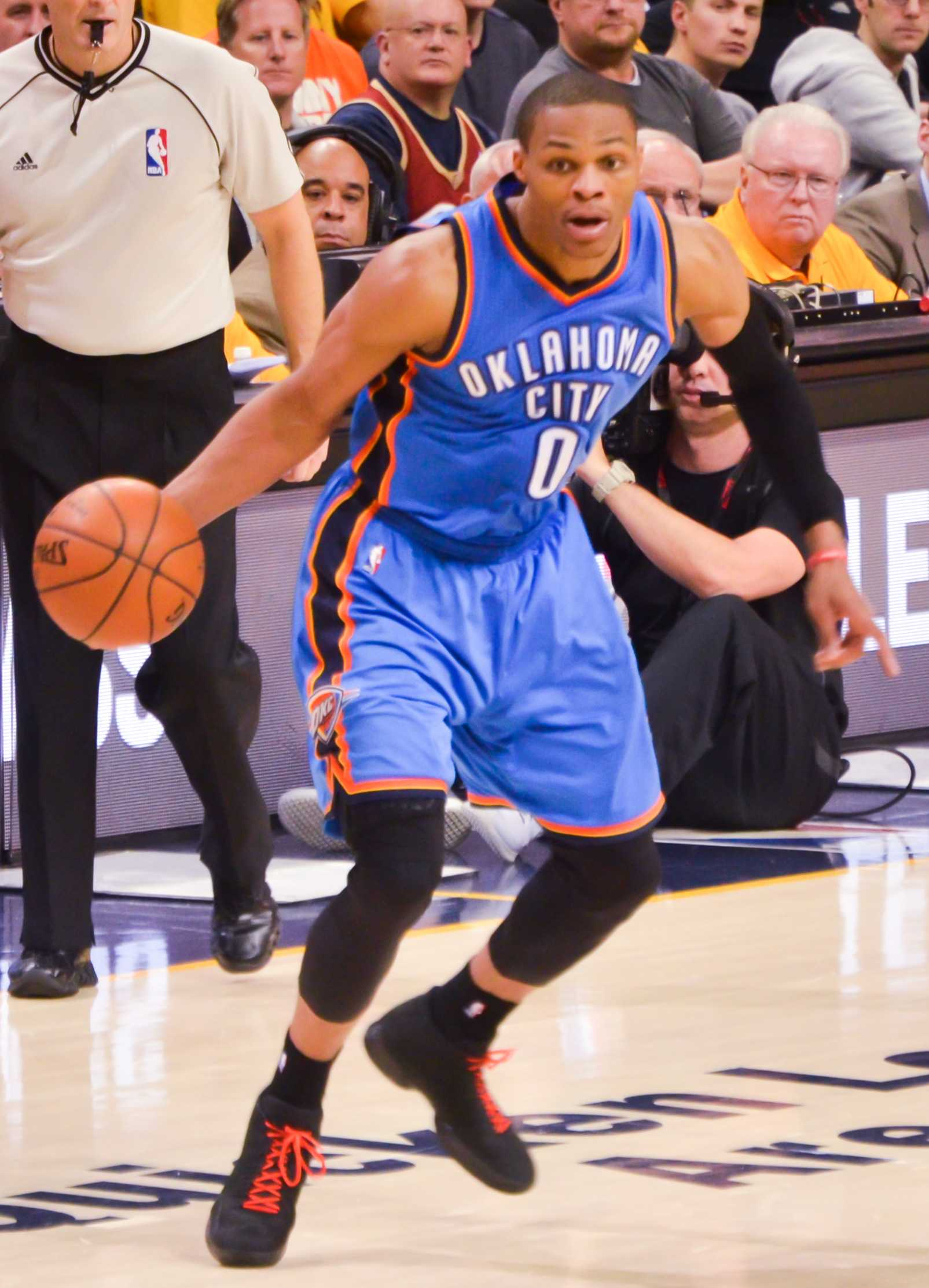 Westbrook is averaging a triple double this year, but was wasn't voted an All-Star starter.