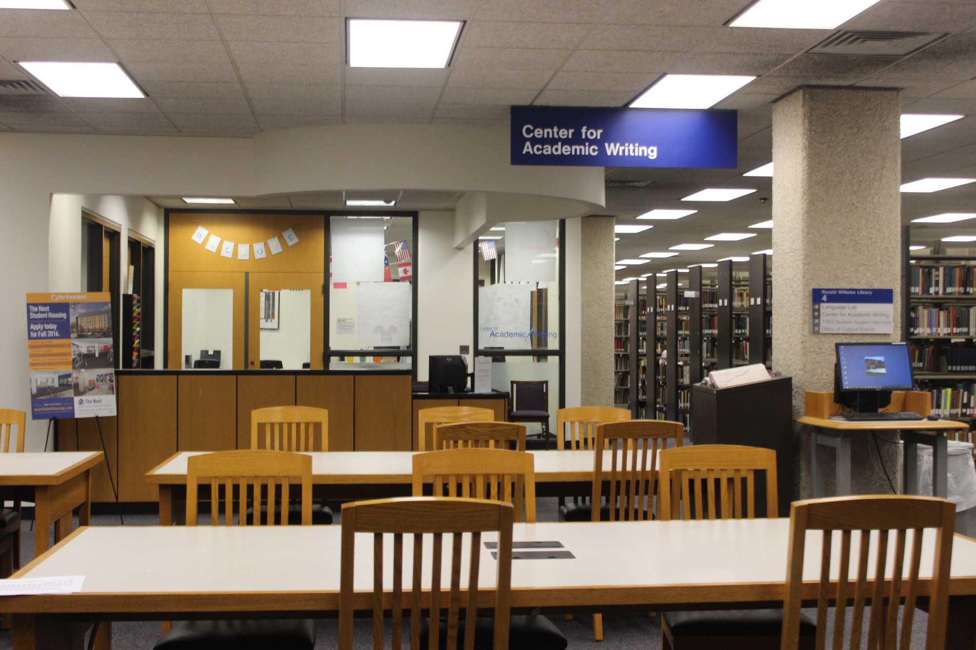 An empty Center for Academic Writing will only become more common as furloughs continue to be pushed on staff and faculty  by the NEIU administration.