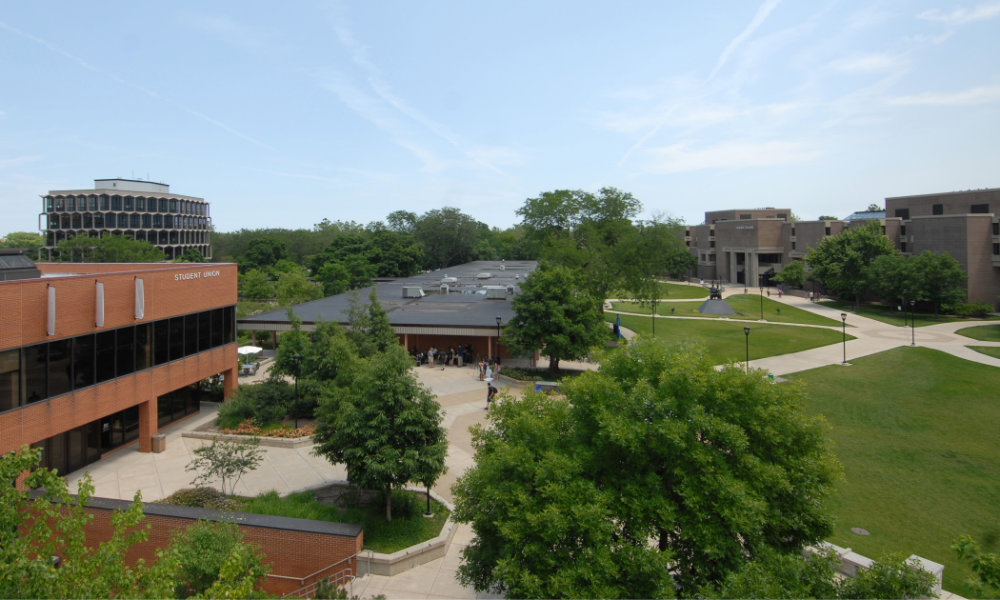The future NEIU seeks to give students the traditional college experience.