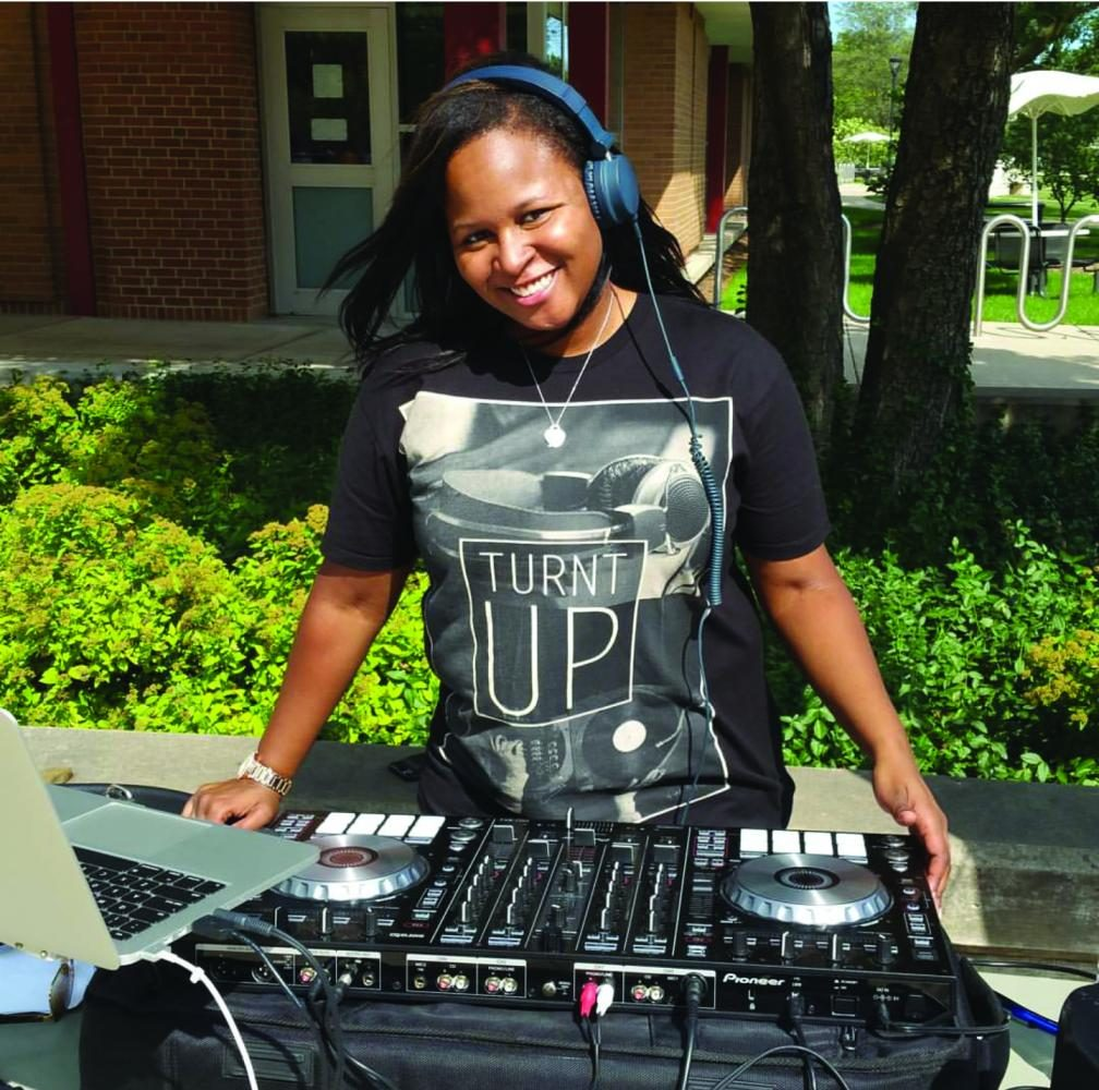 DJ+Stack+performing+at+First+Fridays+event+on+NEIU%27s+Main+Campus.+You+can+learn+more+about+DJ+Stack+on+her+website+at+www.DJStack83.com.%0A