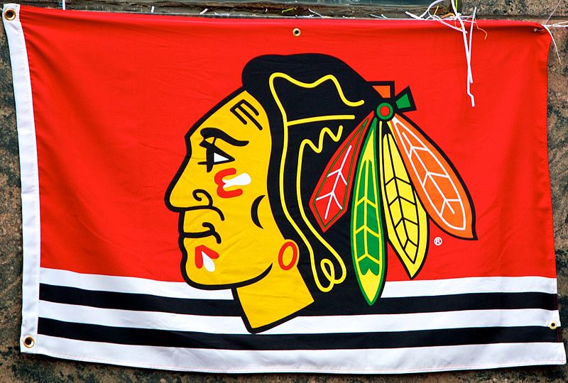 Blackhawks+Flag