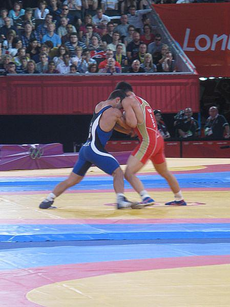 London 2012 Greco-Roman Wrestling by Robin Bray-Hurren