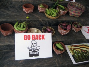 Monsanto Protest by Wikimedia Commons