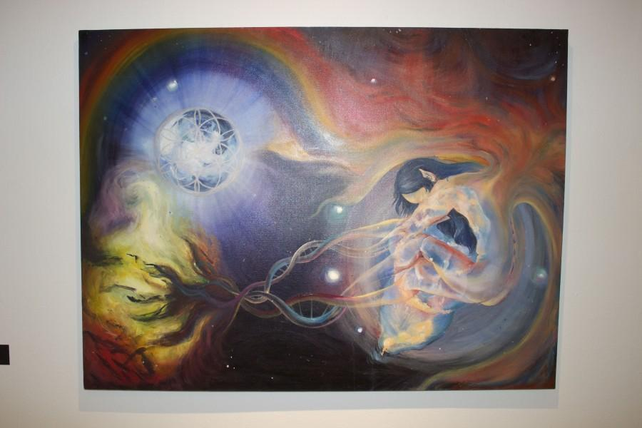 Cosmic+Birth%2C+oil+on+canvas%2C+2011
