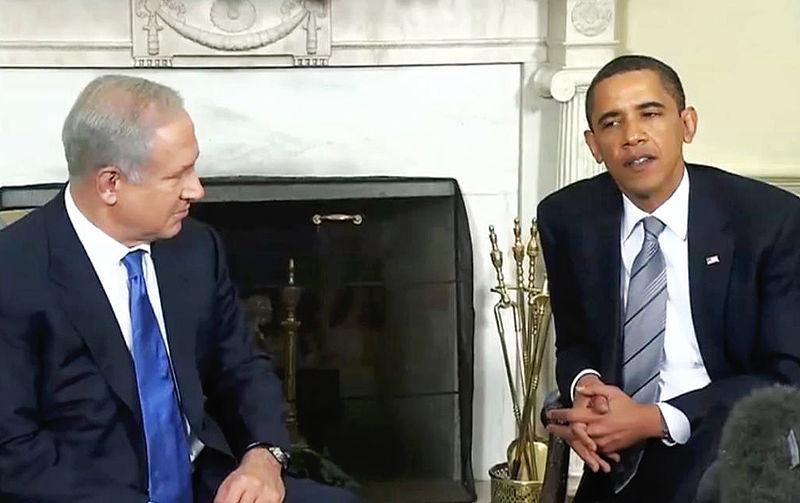 President+Obama+with+Benjamin+Netanyahu