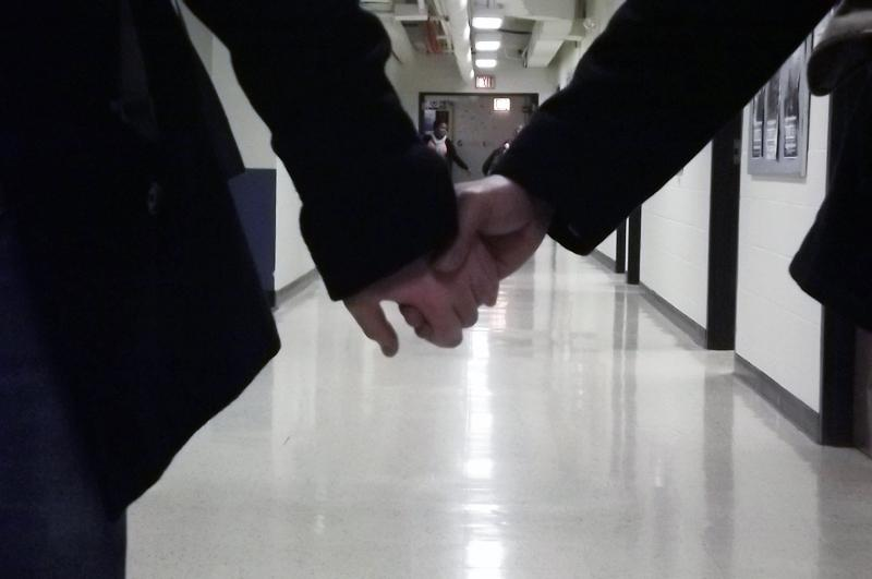 Hand in Hand - Photo by Emily Haddad