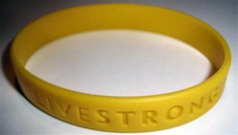 Livestrong wristband