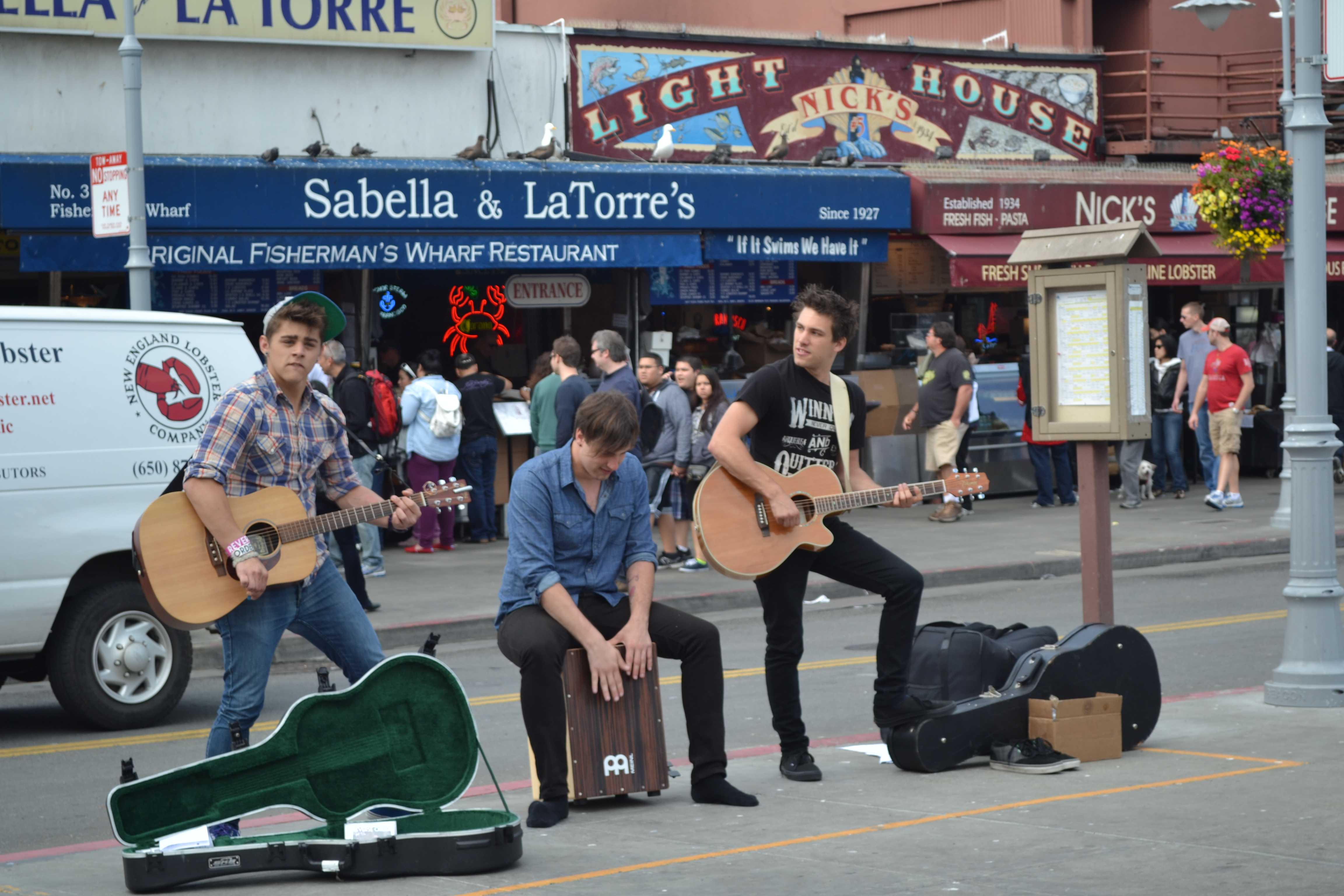Reverse Order Perfoming at Fisherman's Warf - Photo by Desiree Dylong