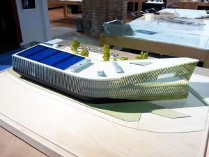 ARTICLE EL CENTRO The El Centro building model - photo courtesy of JGMA
