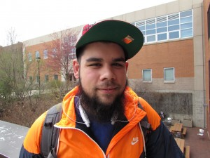 Felipe Delagarza Sophomore, Marketing I feel kind of confident. It seems like there are more people going to school for degrees in marketing, and there just aren't enough job opportunities out there for everyone.