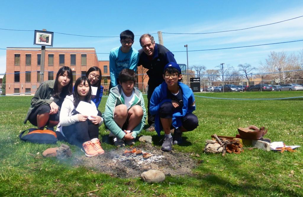 (Top, left) Jasmine Kim, Jenny Lee, Skylar Cho, Dan Creely, Rachael Kang, Daniel Choi and David Moon