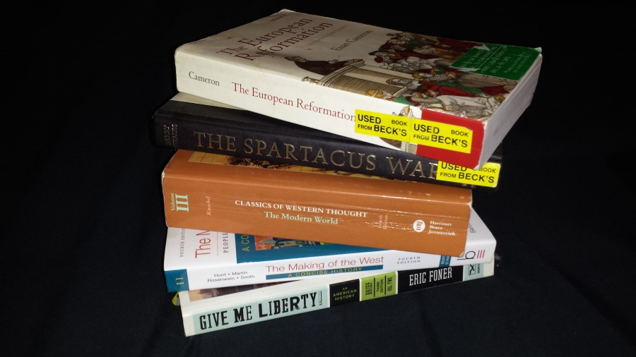 Many resort to buying used textbooks whenever possible