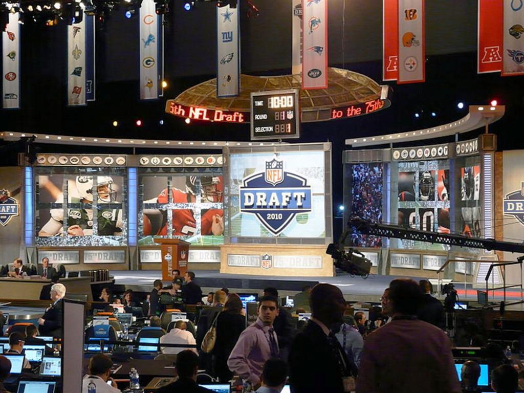 The NFL draft has been at Radio City Music Hall since 2006 and in New York City since 1965