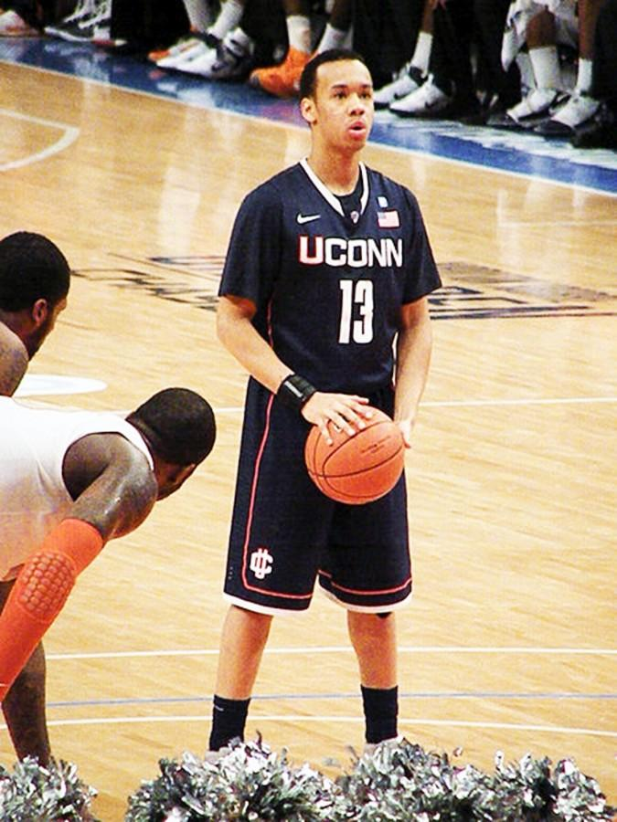 Connecticut Huskies point guard Shabazz Napier