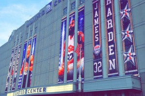 Chicago's United Center played host to Derrick Rose and Team USA earlier this month