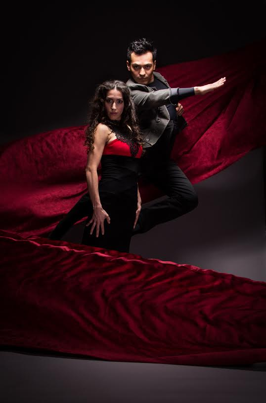 Principal dancer Claudia Pizarro and company dancer Juan Castellon—so much sexy!