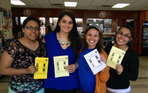 All four members of the Golden Ticket won executive seats. (from left to right) Stephanie Garcia, Amanda Steflo, Jessica Guillen, and Brenda Bedolla