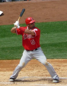 The resurgence of Albert Pujols has helped the Angels remain atop the American League West division.