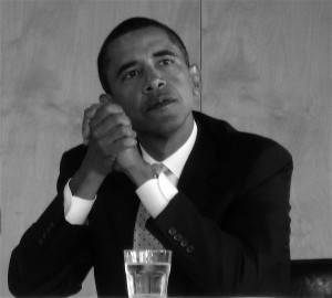 Barack Obama on the primary.