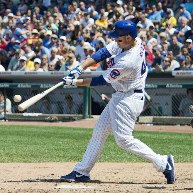 Anthony Rizzo has become one of the best lefty bats in baseball and a cornerstone of the Cubs' future.