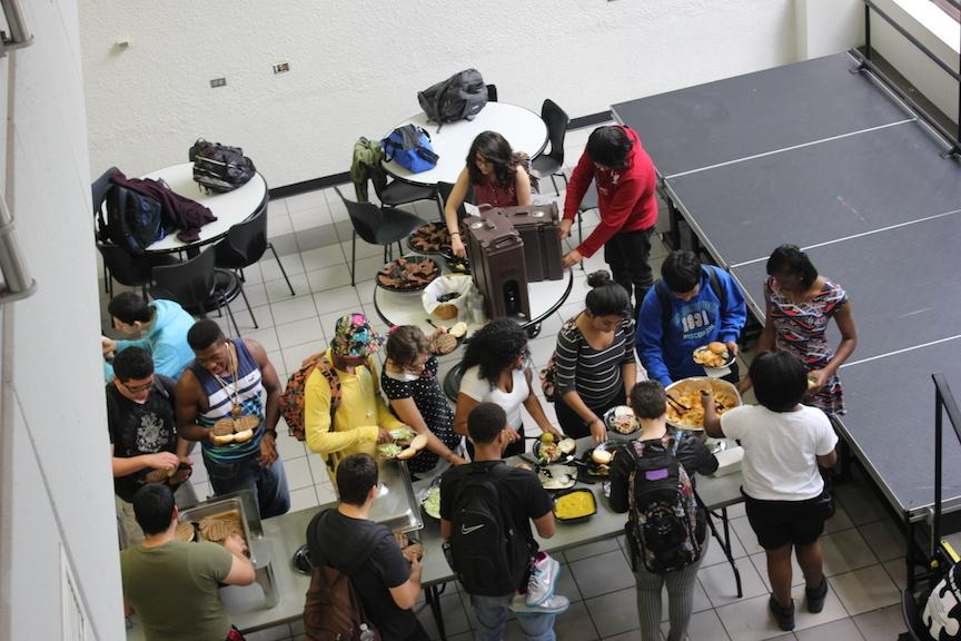 Diversity is prevalent in almost every scene at NEIU.
