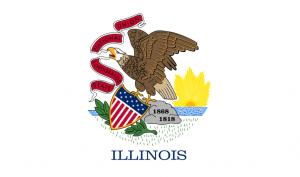 Illinois flag.