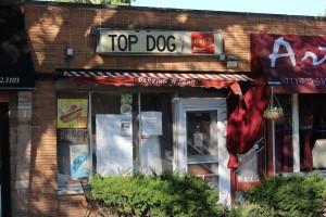 Nothing like a Chicago hot dog—no ketchup!