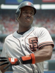 This pre-steroid era photo of Barry Bonds barely resembles his 2006 juiced up body.