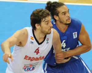 New teammates Pau Gasol and Joakim Noah have battled against each other in NBA and international play for years.