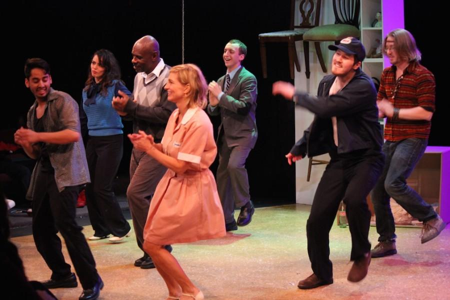 At certain points throughout the play, when words no longer served any purpose, the cast would break out it into dance.