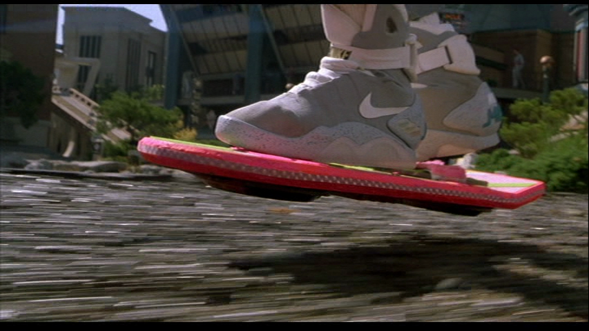 Sorry, you're going to have to do your chase scene on a regular skateboard in 2015