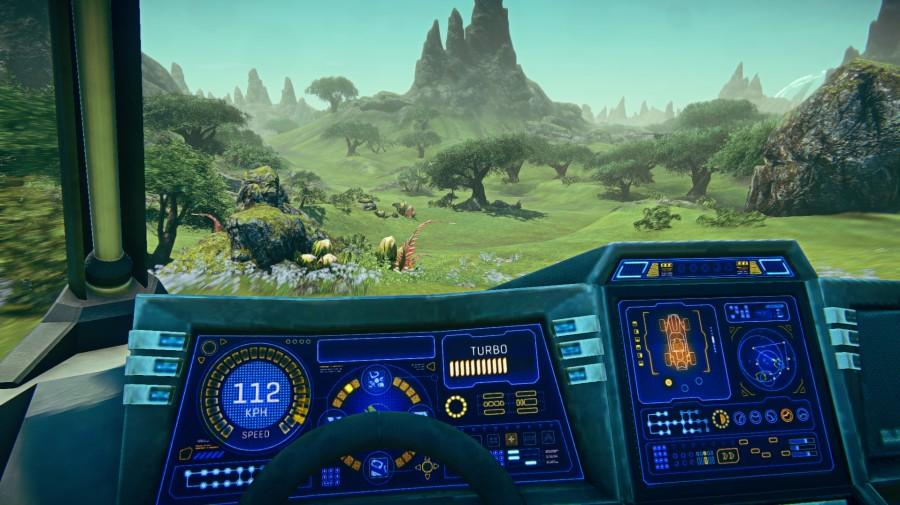 You can be a soldier in Planetside 2. Or you can drive through a field of daisies.