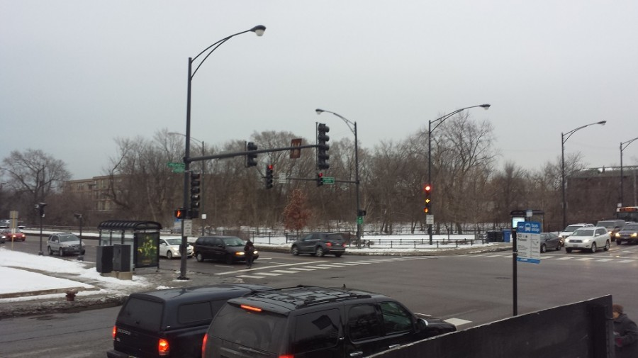 Pulaski+and+Foster+Avenue+after+it+has+been+plowed