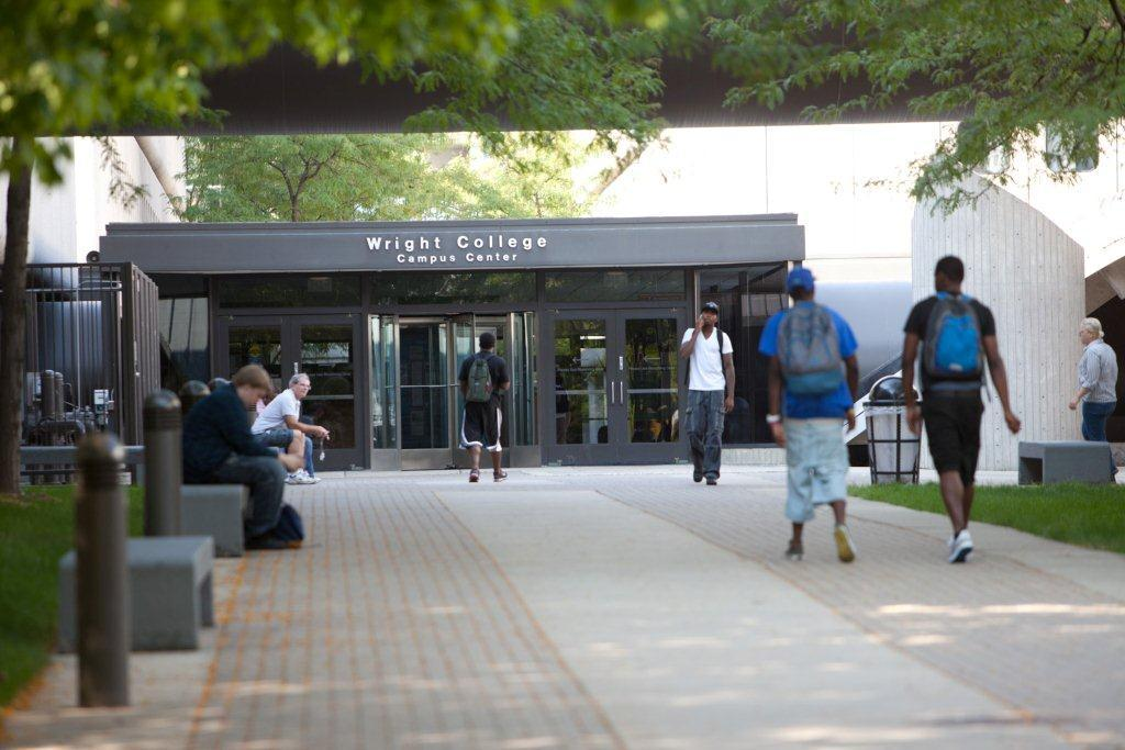 Wilbur Wright College located at 4300 N Narragansett Ave