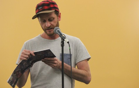Adam Cifarelli reads his work,