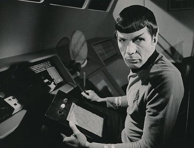 Leonard+Nimoy+in+his+most+iconic+and++beloved+role+as+Spock%2C+the+intrepid+Science+Officer+for+the+Starship+Enterprise+in+the+original+series.