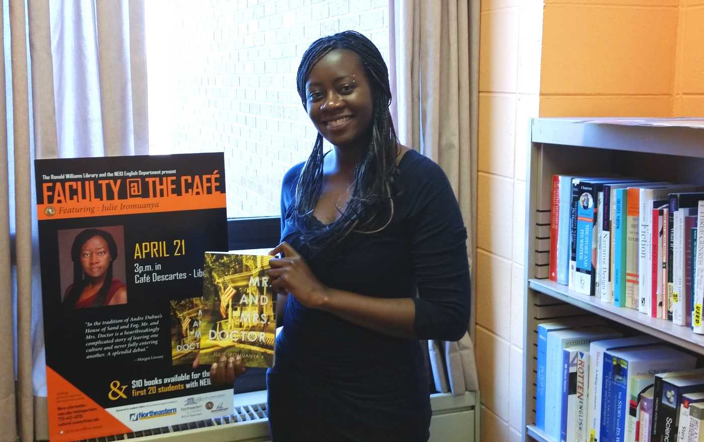 One of NEIU's most brilliant authors displays her latest work; a piece challenging and questioning its readers at every turn.