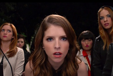 Anna Kendrick returns as Beca, the lead role in Pitch Perfect 2.