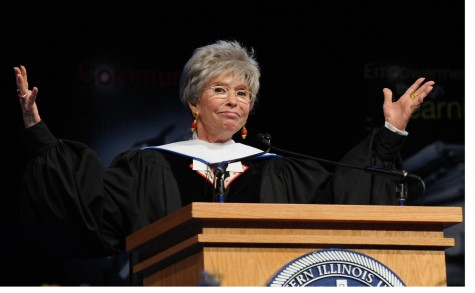 Legendary Starlet Rita Moreno speaks words of wisdom to class of 2015