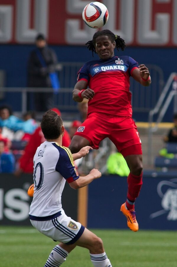Fire Defense, Lovel Palmer, against Real Salt Lake